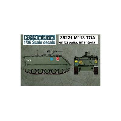 SET CALCAS TOA-113 INFANTERIA ESPAÑOLA - FC Modeltips 35221
