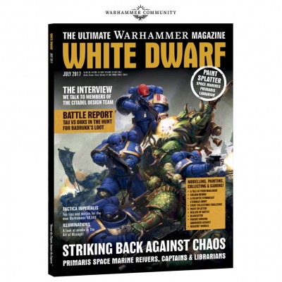 WHITE DWARF JULIO (INGLES)