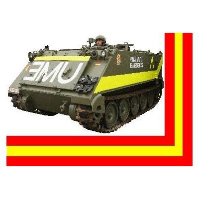 TRANSPORTE DE TROPAS TOA-113 UME (Unidad Militar de Emergencias)