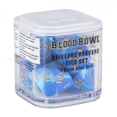 BLOOD BOWL: REIKLAND REAVERS SET 7 DADOS