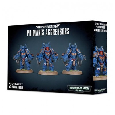 SPACE MARINES PRIMARIS AGGRESSORS - GAMES WORKSHOP 48-69
