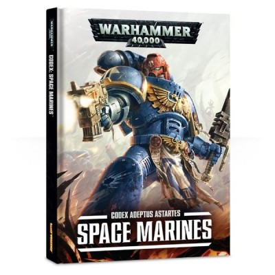 CODEX SPACE MARINES - Adeptus Astartes (CASTELLANO) - GAMES WORKSHOP 48-01
