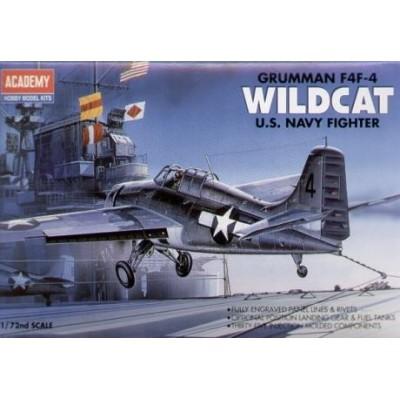 GRUMMAN F4F-4 WILDCAT - Academy 12451