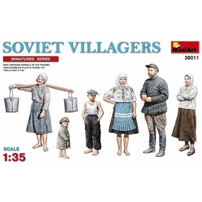 HABITANTES DE PUEBLO SOVIETICOS - MiniArt 38011