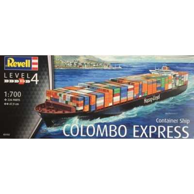 BUQUE PORTACONTENEDORES COLOMBO EXPRESS 1/700 - REVELL 05152