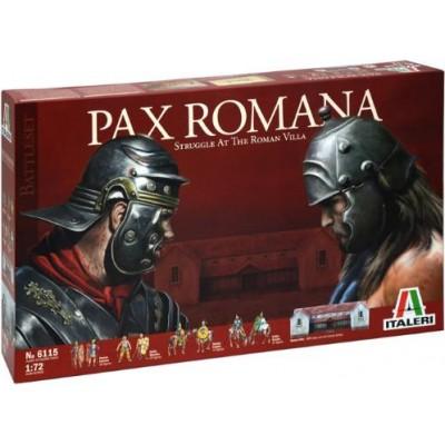 SET PAX ROMANA 1/72 (109 FIGURAS Y UN EDIFICIO) - ITALERI 6115