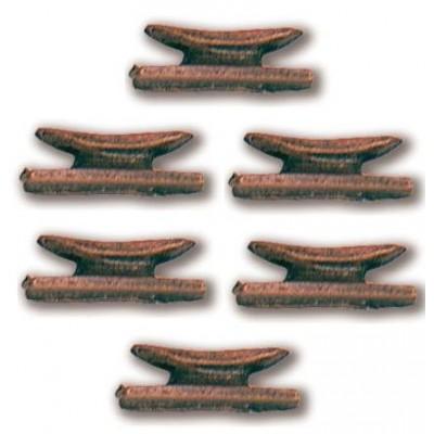 CORNAMUSAS METAL (9 mm) 6 unidades - CONSTRUCTO 80207