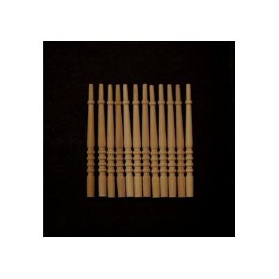 BARROTES ESCALERA (68 x 4 mm) 12 unidades - Vega Mini 22704