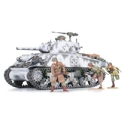 CARRO DE COMBATE M4-A3 SHERMAN (OBUS 105 mm) ESCALA 1/35 TAMIYA 35251