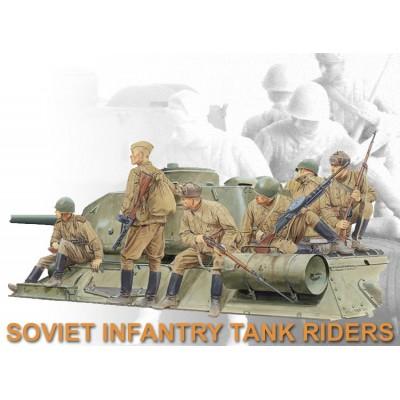 INFANTERIA SOVIETICA SOBRE CARRO (6 UNID