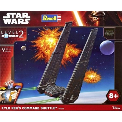 Star Wars: KYLO REN`S COMMAND SHUTTLE - Revell 06695