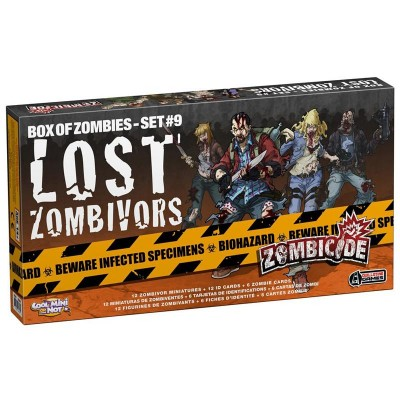 ZOMBICIDE: LOST ZOMBIVORS GUILLOTINE GAMES GUG0056