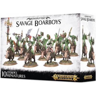 BONESPLITTERZ SAVAGE BOARBOYS - GAMES WORKSHOP 89-20