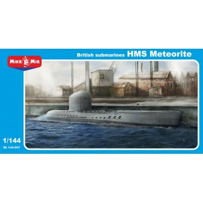 SUBMARINO H.M.S. METEORITE - Mikro Mir 144-007