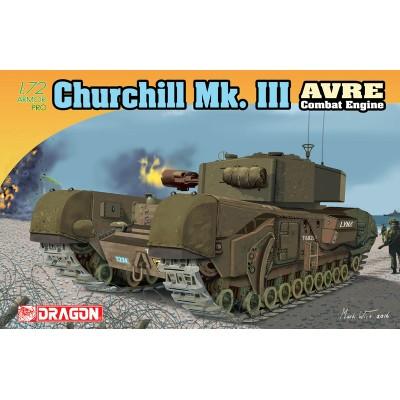 CARRO DE COMBATE CHURCHILL MK-III AVRE - Dragon 7327