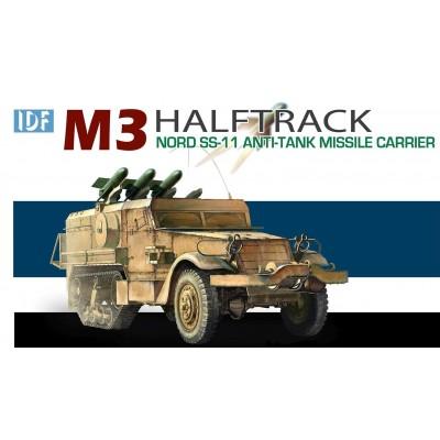 SEMIORUGA M-3 & MISILES Nord SS-11 (ISRAEL) - Dragon 3579