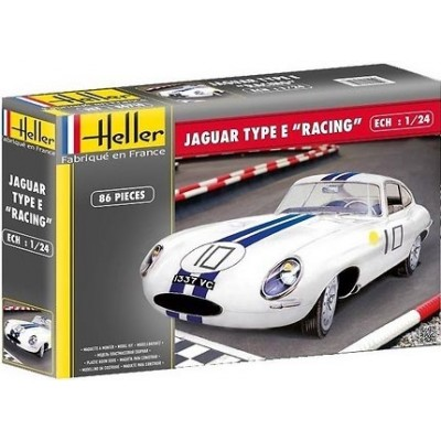 JAGUAR TYPE E -Racing- Heller 80783
