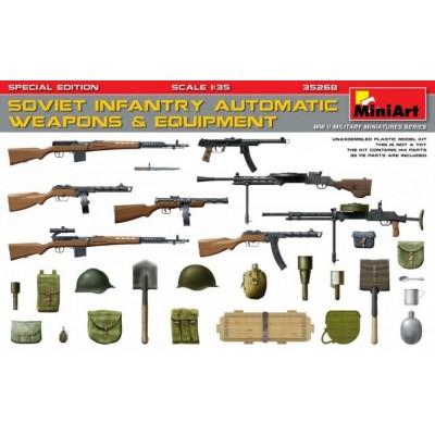 ARMAS AUTOMATICAS Y EQUIPO SOVIETICO - MiniArt 35268