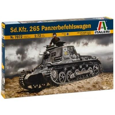 CARRO DE MANDO Sd.Kfz. 265 Panzerbefehlswagen - Italeri 7072