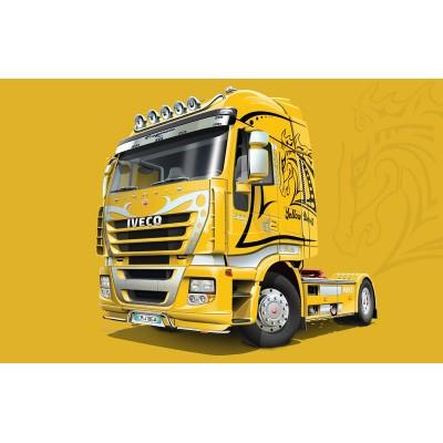 IVECO STRALIS -Yellow Devil- Italeri 3898