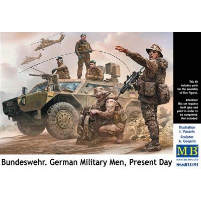 Bundeswehr. SOLDADOS ALEMANES MODERNOS - Master Box 35195