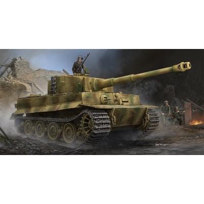 CARRO DE COMBATE Sd.Kfz. 181 Ausf. E (Late) TIGER I - Trumpeter 09540