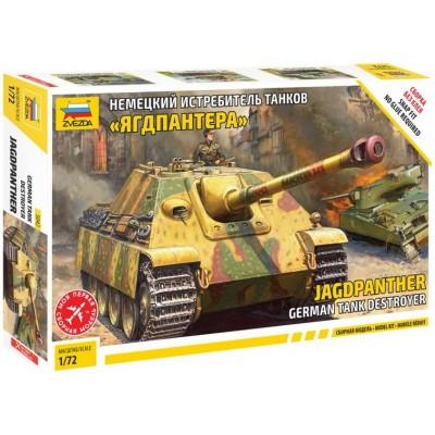 CAZACARROS Sd.Kfz. 173 Jagdpanther 1/72 - Zvezda 5042