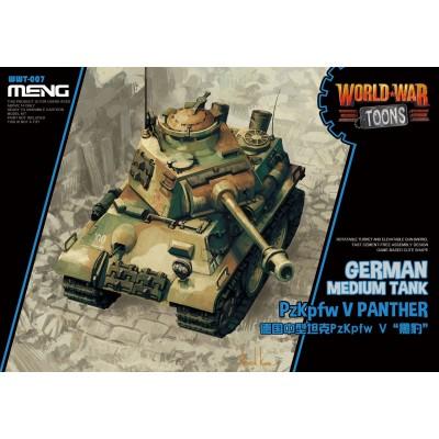CARRO DE COMBATE PANTHER -TOONS- Meng Model WWT-007