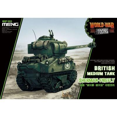 CARRO DE COMBATE SHERMAN FIREFLY -TOONS- Meng Model WWT- 008