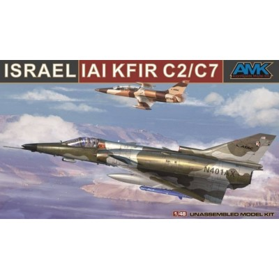 IAI KFIR C2 / C7 1/48 - AMK AVANGARDE 88001A