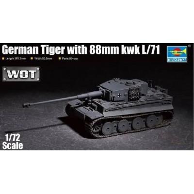 CARRO DE COMBATE Sd.Kfz. 181 -L71, 88 mm- Trumpeter 07164