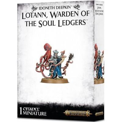 Idoneth Deepkin LOTANN. WARDEN OF SOUL LEDGERS - Games Worshop 87-31