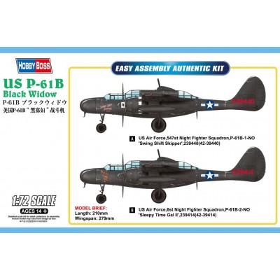 NORTHROP P-61 B BLACK WIDOW - Hobby Boss 87262