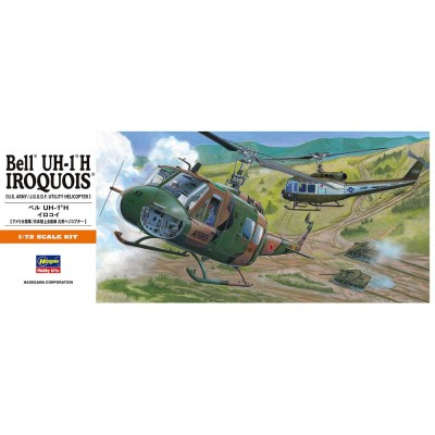 BELL UH-1 H IROQUOIS - escala 1/72 - hasegawa A11