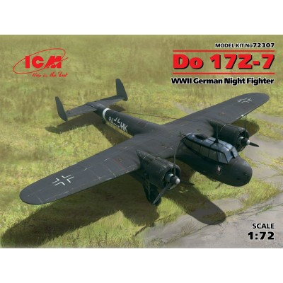 DORNIER DO-17 Z-7 1/72 - ICM 72307