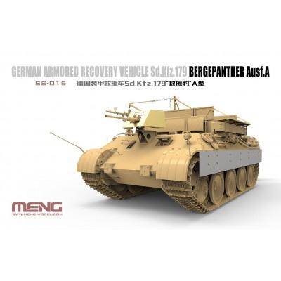 CARRO DE RECUPERACION Sd.Kfz. 179 Bergpanther Ausf.A 1/35 - Meng Model SS-015
