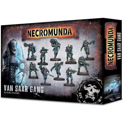 NECROMUNDA VAN SAAR GANG - GAMES WORKSHOP 300-29