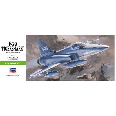 NORTHROP F-20 TIGERSHARK 1/72 - Hasegawa B3