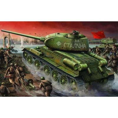 CARRO DE COMBATE T-34/85 (1944) Factory Nº 174 1/16 - Trumpeter 00904