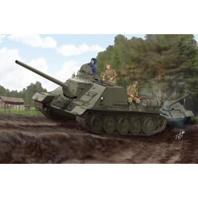 CAZACARROS SU-100 1/16 - Trumpeter 00915