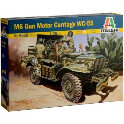 CAMION GMC M-6 6 CAÑON ANTICARRO 37 mm 1/35 - Italeri 6555