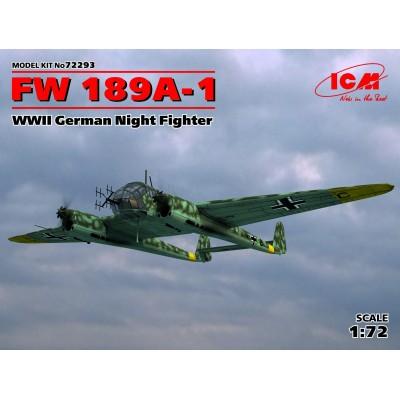FOCKE WULF Fw-189 A-1 1/72 - ICM 72293