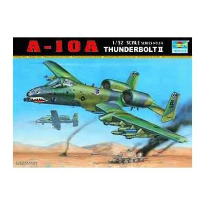 FAIRCHILD A-10 A THUNDERBOLT II -Escala 1/32 - Trumpeter 02214