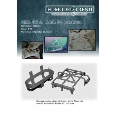 CESTAS BLINDADO AML-60/90 1/35 FC Modeltips 35479