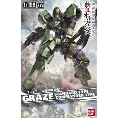 GUNDAM GRAZE STANDAR/COMMANDER TYPE ESCALA 1/100 - BANDAI 0203232