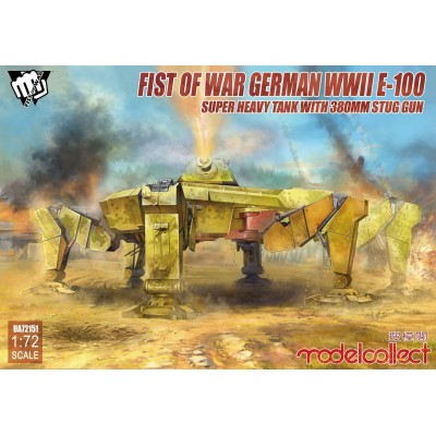 First of War: E-100 Stug (380 mm) 1/72 - ModelCollect UA72151
