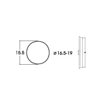 AROS DE ADHERENCIA 16,6 - 19,00 mm (10 unidades)