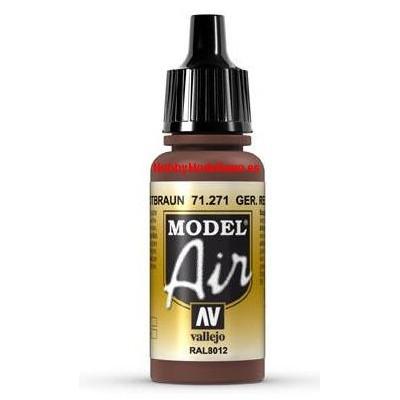 PINTURA ACRILICA ROTTBRAUN RAL8012 (17 ml)