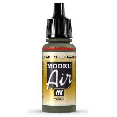 PINTURA ACRILICA VERDE CAMUFLAJE A-24 (17 ml)