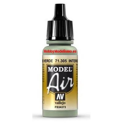PINTURA ACRILICA GRIS VERDOSO INTERIOR (17 ml)
